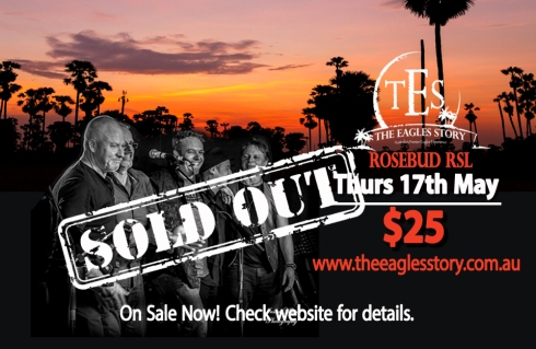 Rosebud RSL Sold Out